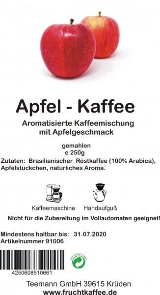 Apfel Fruchtkaffee gemahlen 250g Grundpreis 26.00/kg