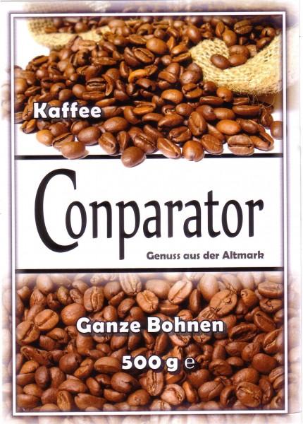 Conparator Kaffee ganze Bohne 500g Grundpreis ¤ 17.00/kg