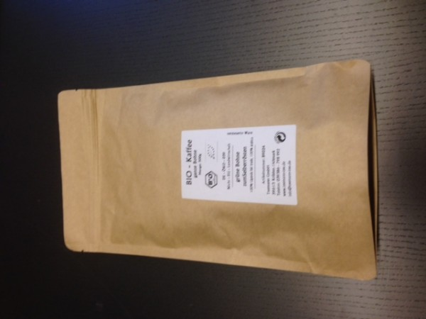 BIO Kaffee grüne Bohne zum Selberrösten ¤ 15.00/kg