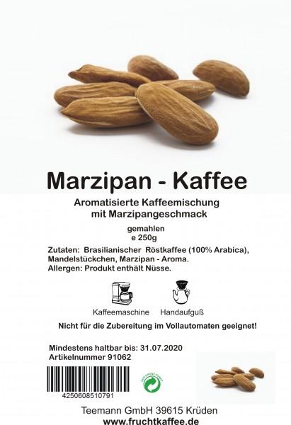 Marzipan aromatisierter Kaffee gemahlen 250g Grundpreis 26.00/Kg