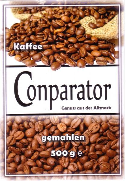 Conparator Kaffee gemahlen 500g Grundpreis ¤ 17.00/kg